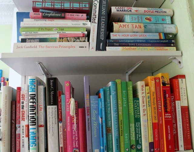 How I read books |www.OrganisingQueen.com