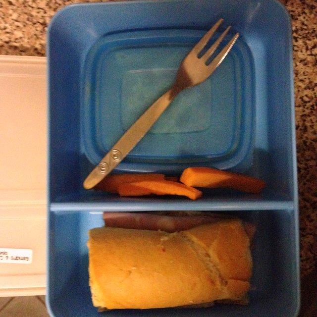 Kids' school lunches | www.OrganisingQueen.com