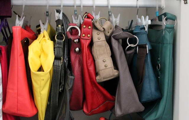Storing Handbags Www Organisingqueen