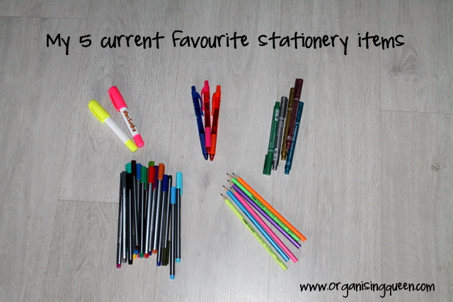 favourite stationery finds | www.organisingqueen.com