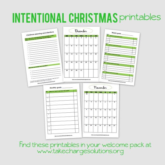 Christmas printables  www.OrganisingQueen.com