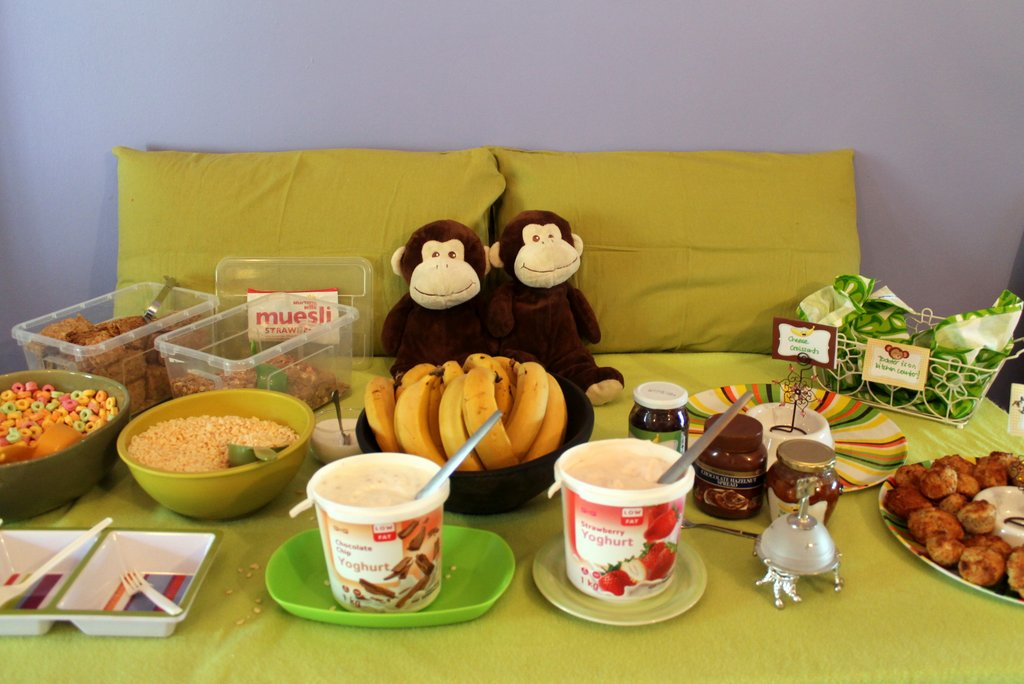 Monkey birthday party | Organising Queen