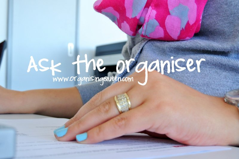 Ask the organiser |www.OrganisingQueen.com