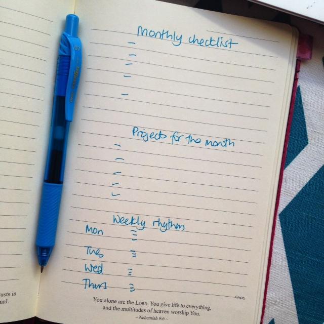 Goal-setting | Organising Queen